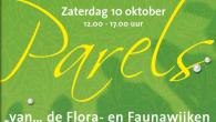 Op zaterdag 10 oktober kunt u alle Parels uit dit boekje persoonlijk bewonderen. Op deze dag stelt een grote groep bewoners uit de Vogelwijk en de Bloemen-, Bomen-, Heester- en...