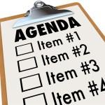 Agenda Vergadering